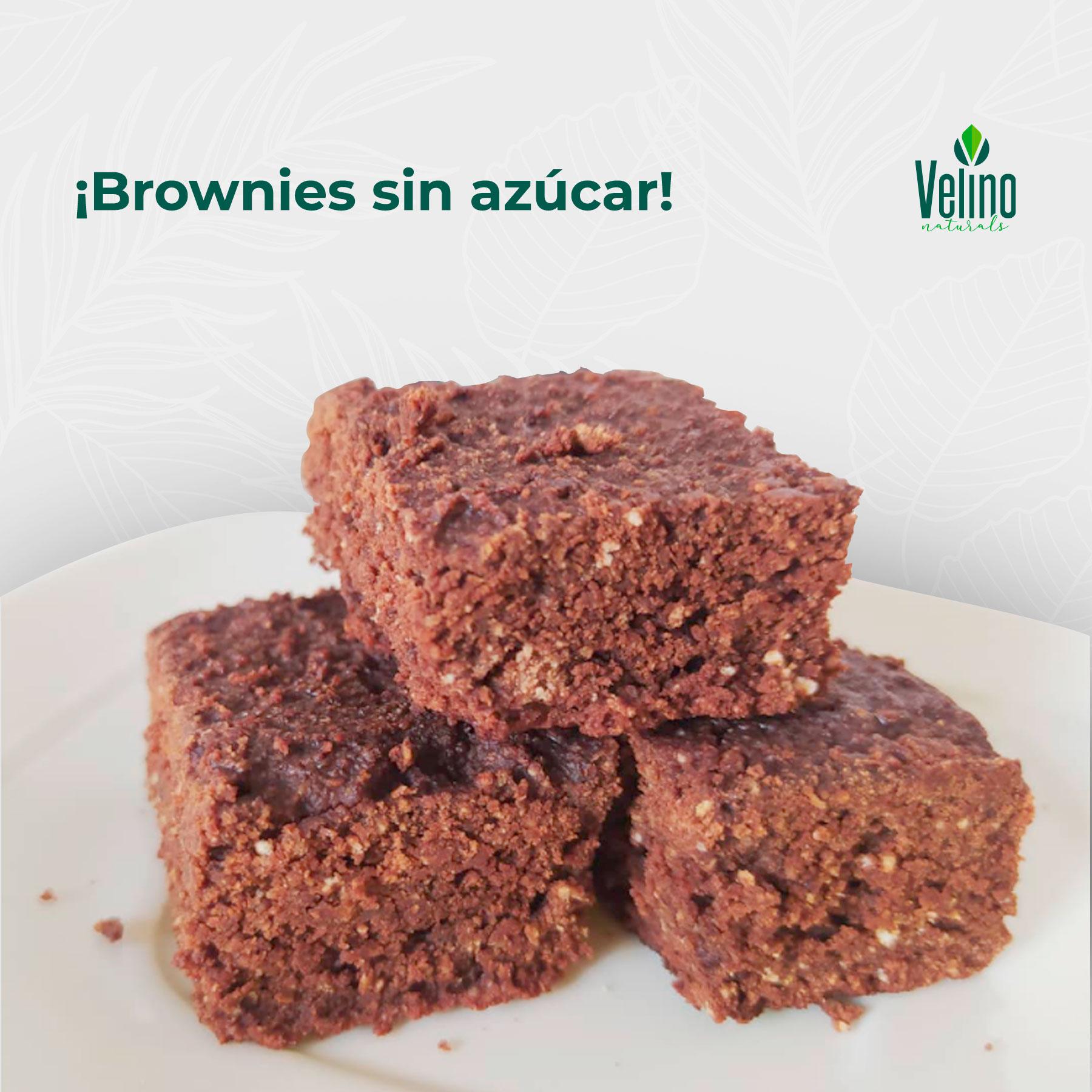 Brownies con Stevia Velino naturals